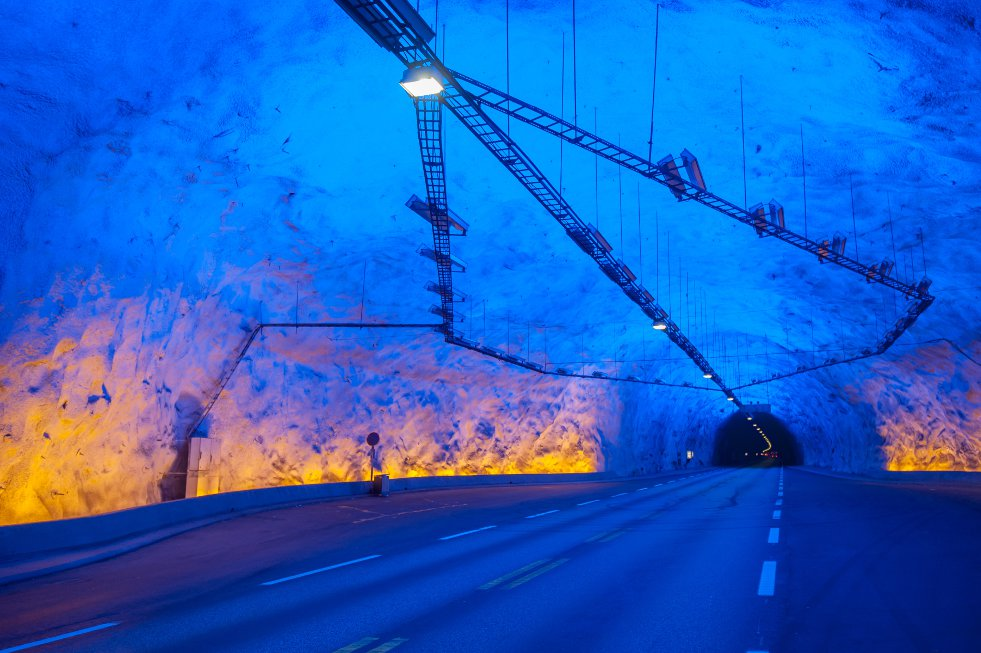 Laerdal tunnel interieur